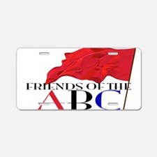 Friends of the ABC Aluminum License Plate