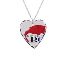 Friends of the ABC Necklace Heart Charm