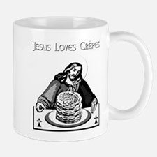 JESUS LOVES CREPES! Mug