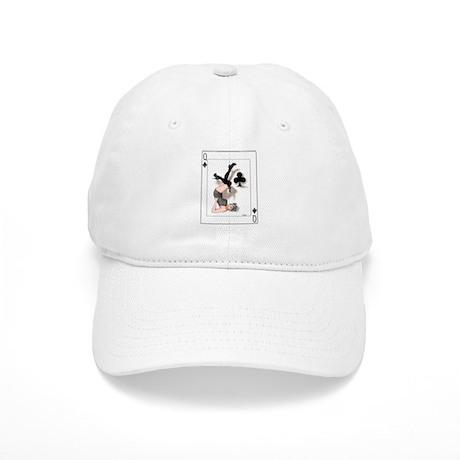 Queen of Clubs Pin-up Cap