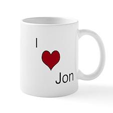 I <3 Jon Mug