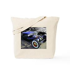 Lil' Blue Ratrod Tote Bag