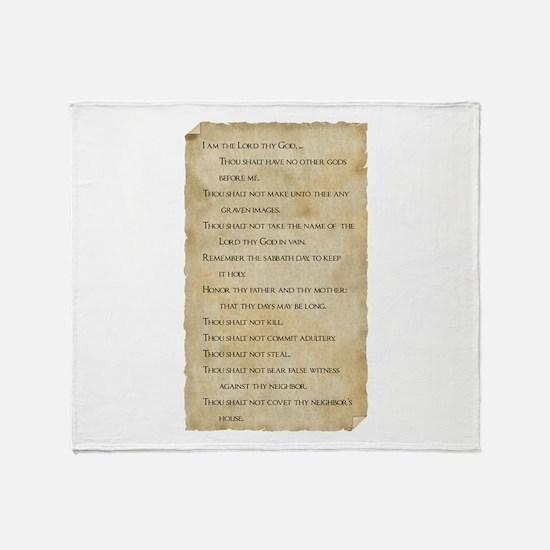 Unique Bible verses Throw Blanket