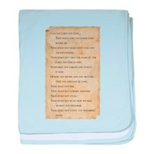 Cute Bible quotes baby blanket