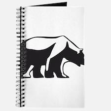 Unique Bear claws Journal