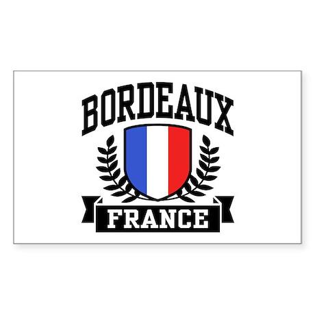 Bordeaux France Sticker (Rectangle)