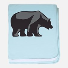 Cute Rocky mountains baby blanket