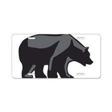 Cute Claws Aluminum License Plate