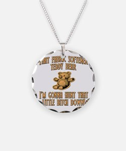 Fabric Softener Teddy Bear Supernatural Necklace