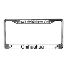 """Chihuahua"" License Plate Frame"
