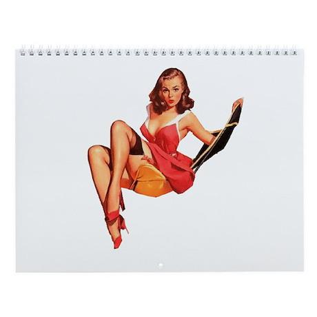 Pinup Wall Calendar