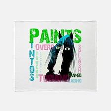 Funny Pinto Throw Blanket