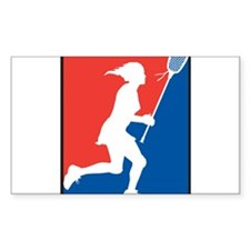Lacrosse Sticker (Rectangle)