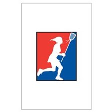 Lacrosse Large Poster