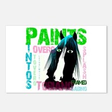 Cute Paint horse Postcards (Package of 8)