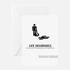 Life Insurance (CCQ) Greeting Card