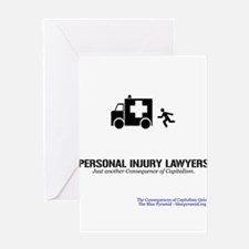Personal Injury Lawyers (CCQ) Greeting Card