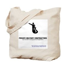 Private Military Contractors Tote Bag