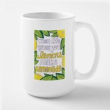 Make Lemonade Large Mug
