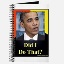 Did I Do That? Journal