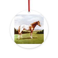 Appaloosa Ornament (Round)