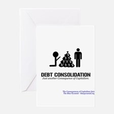 Debt Consolidation (CCQ) Greeting Card