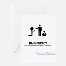 Bankruptcy (CCQ) Greeting Card