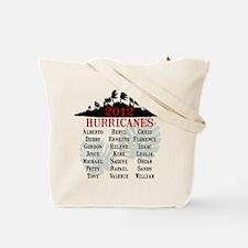 2013 Hurricane Season Tote Bag
