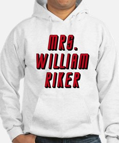 Mrs William Riker Star Trek Next Generation Hoodie