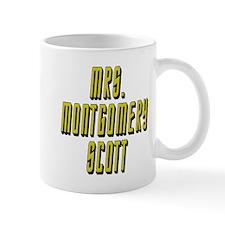 Mrs. Montgomery Scott Star Trek Mug