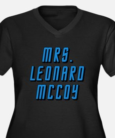 Mrs. Leonard McCoy Star Trek bones Women's Plus Si