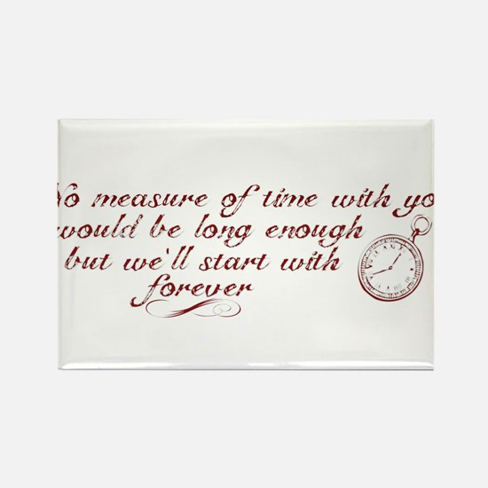 No Measure of Time-Breaking D Rectangle Magnet