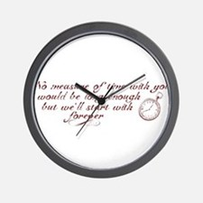 No Measure of Time-Breaking D Wall Clock