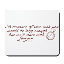 No Measure of Time-Breaking D Mousepad