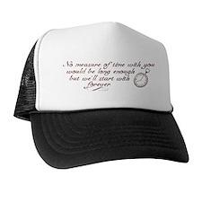 No Measure of Time-Breaking D Trucker Hat