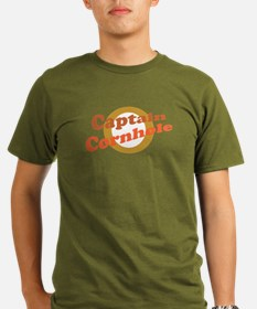 Captain Cornhole Organic Men's T-Shirt (dark)