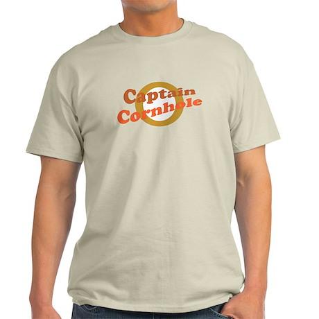 Captain Cornhole Light T-Shirt