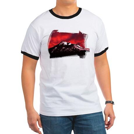 Shasta Red Cloud Ringer T