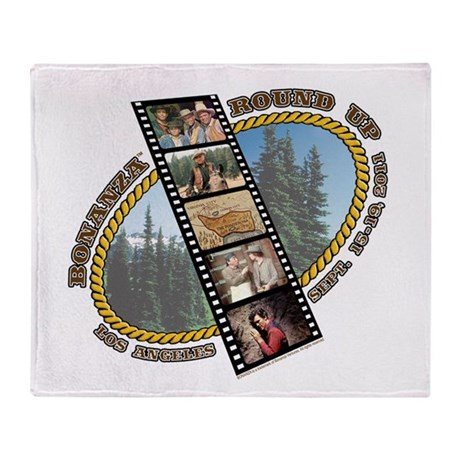 BONANZA ROUND UP Throw Blanket