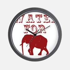 Water For Elephants Wall Clock
