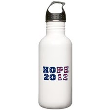 Hope 2012 (US Election) Water Bottle