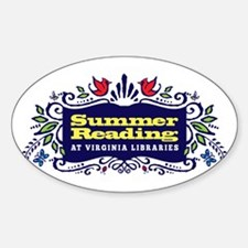 Libraries of Virginia Decal