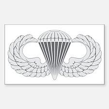 Airborne Sticker (Rectangle)