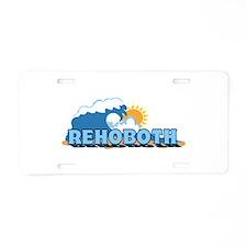 Rehoboth Bech DE - Waves Design Aluminum License P