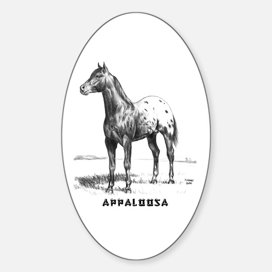 Appaloosa Sticker (Oval)