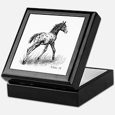 Appaloosa Keepsake Box