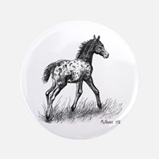 "Appaloosa 3.5"" Button"