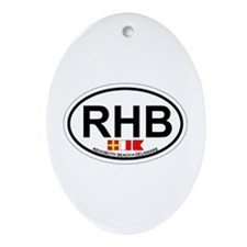 Rehoboth Beach DE - Oval Design Ornament (Oval)