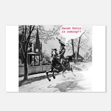 Palin Revere Postcards (Package of 8)