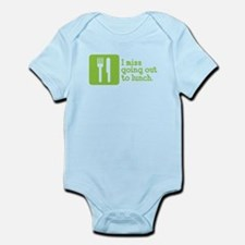 I Miss Lunch Infant Bodysuit